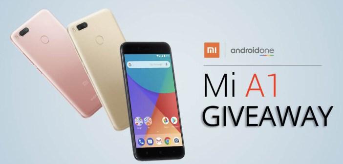 Xiaomi Mi A1 Smartphone Giveaway